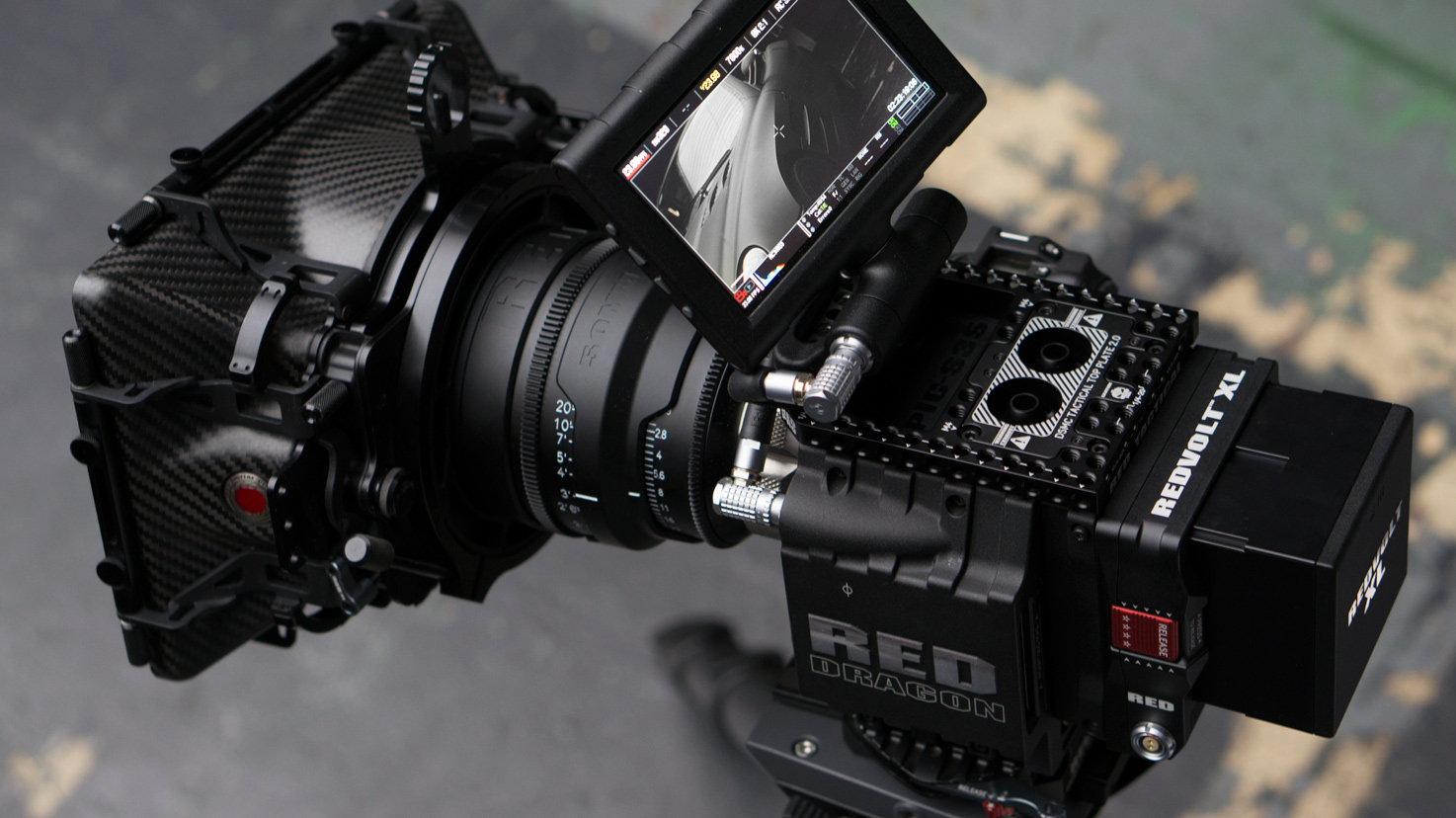 Where is RED DRAGON? Upgraded Camera Spotted in the Wild