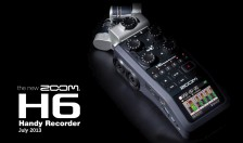 Zoom H6 Audio Recorder - July 2013