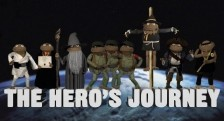The Hero's Journey glove and boots puppets Joseph Campbell