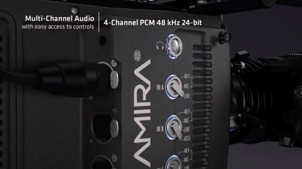 ARRI AMIRA 4-Channel PCM Audio