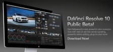 Blackmagic DaVinci Resolve 10 Public Beta