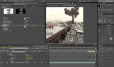 After Effects Color Key masking
