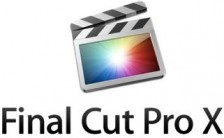 Final Cut Pro X Logo with Words