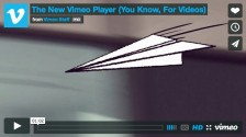 New Vimeo Video Player