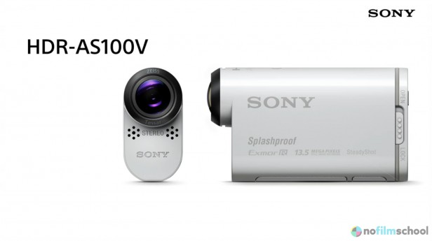 Sony HDR-AS100V POV 4K Action Cam