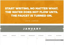 The Black List 2014 Writers Calendar