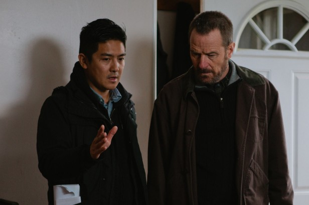 Tze Chun and Bryan Cranston