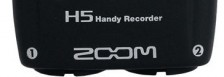 Zoom H5 Handy Recorder Front Cropped