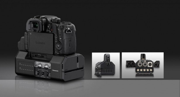 Panasonic GH4 4K Interface Unit Both Sides