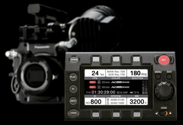 Panasonic VariCam 35 Removable Control Panel