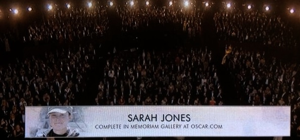 Sarah Jones Academy Tribute