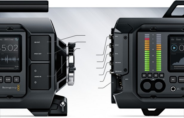 Blackmagic URSA Connections