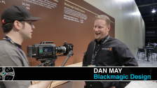 Dan May with No Film School at NAB 2014