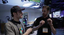 No Film School at NAB 2014, Joe Marine and AJA's Andy Bellamy