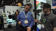 No Film School at the Tiffen : Steadicam Booth NAB 2014