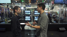 No Film School with Teradek at NAB 2014, Showing off the Serv and TeraView App