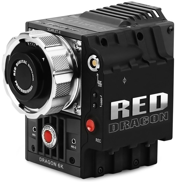 RED SCARLET DRAGON 6K 12fps