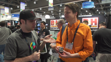 Robert Rozak shows No Film School the new Little Darling at NAB 2014