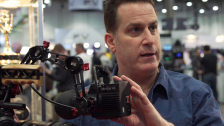 Ryan Koo Visits Steve Weiss at the Zacuto Booth NAB 2014