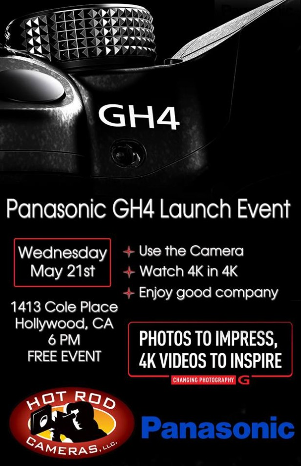 Panasonic GH4 Launch Event Hot Rod Cameras
