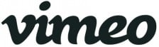 Vimeo Logo Black on White