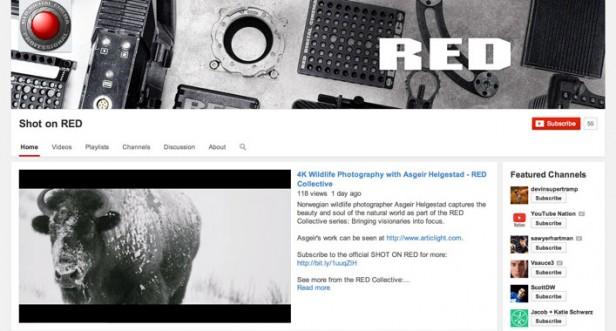 red youtube 4k open source vp9 codec channel