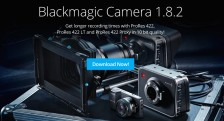Blackmagic Camera Firmware Update 1_8_2 with ProRes