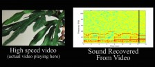 MIT - Extracting audio from visual information