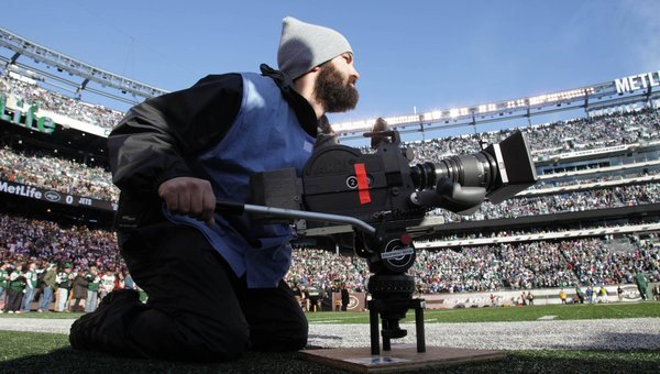 NFL Films Has Abandoned Film and is Shooting the 2014 Season on the
