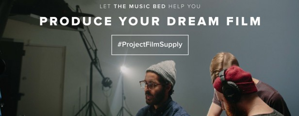 The Music Bed Project Film Supply HERO