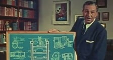 Walt Disney Explaining the Multiplane Camera
