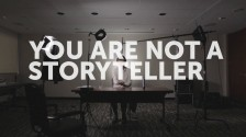 Video thumbnail for vimeo video You Are Not a Storyteller - No Film School